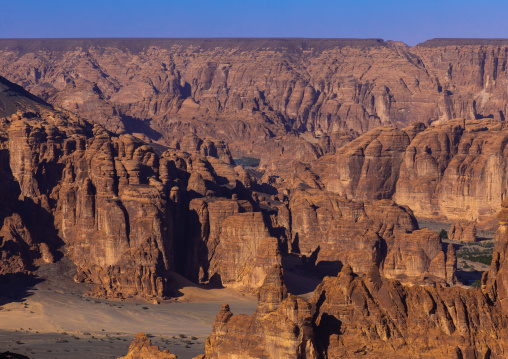 Mountains of the wadi al-Qura, Al Madinah Province, Alula, Saudi Arabia