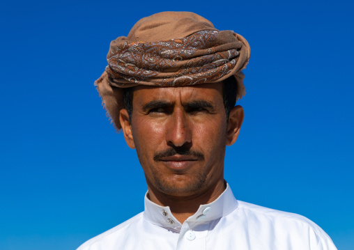 Portrait of a saudi man, Najran Province, Najran, Saudi Arabia
