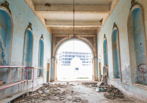 Inside Abdullah al-Suleiman palace, Mecca province, Taïf, Saudi Arabia