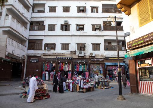 Shops in al-balad area, Mecca province, Jeddah, Saudi Arabia