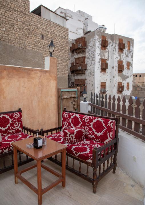 Coffee shop in al-Balad quarter, Mecca province, Jeddah, Saudi Arabia