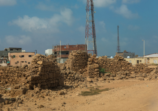 Former german warehouses, Red Sea, Farasan, Saudi Arabia