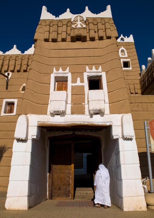 Emarah palace in aba alsaud historical area, Najran Province, Najran, Saudi Arabia