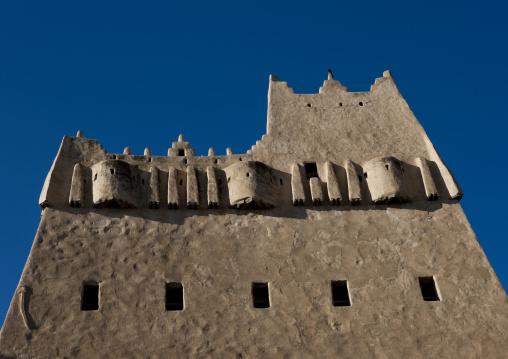 Traditioanl mud house, Asir province, Sarat Abidah, Saudi Arabia