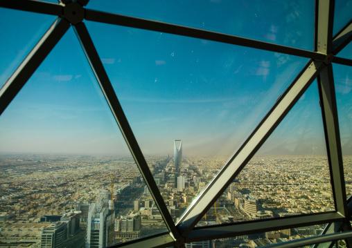 City view from the kingdom center, Riyadh Province, Riyadh, Saudi Arabia
