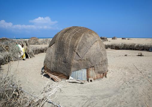 Aqal soomaali, A somali hut, Lughaya area, Somaliland