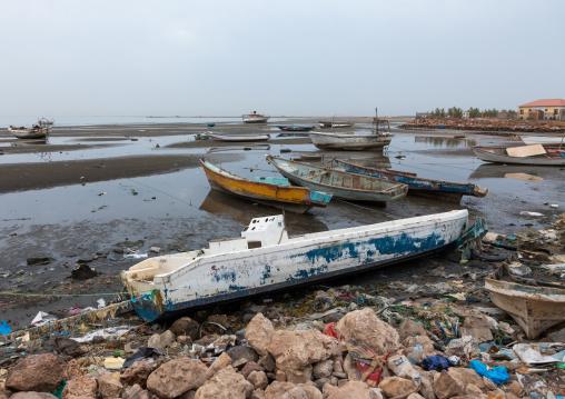 Stationing boats in the port, Sahil region, Berbera, Somaliland