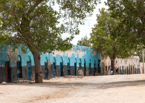 Old ottoman houses, Sahil region, Berbera, Somaliland