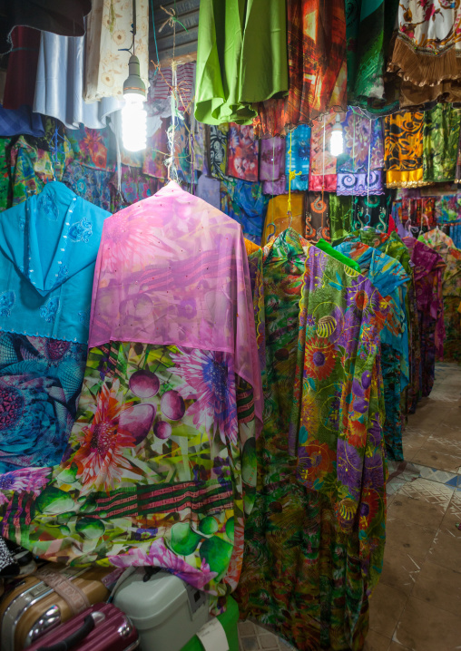 Clothes shops in the market, Woqooyi galbeed region, Hargeisa, Somaliland