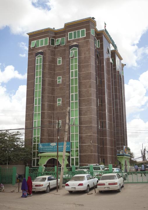 The telesom telecom company building, Hargeisa somaliland