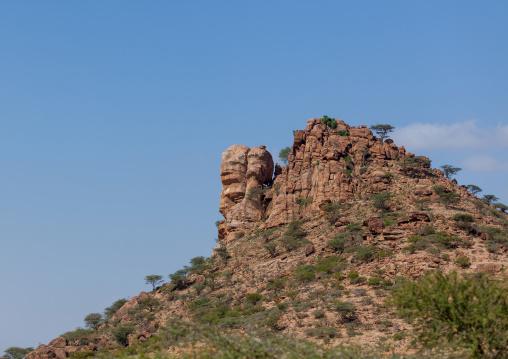 Rock formations landscape, Woqooyi galbeed region, Hargeisa, Somaliland