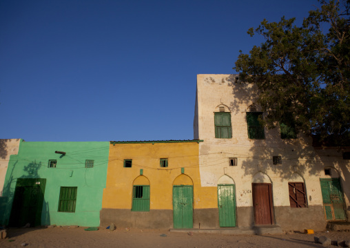 Former ottoman empire painted house, Berbera area, Somaliland