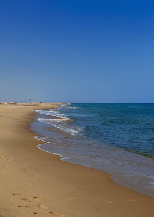 Sand beach and seashore, Berbera area, Somaliland