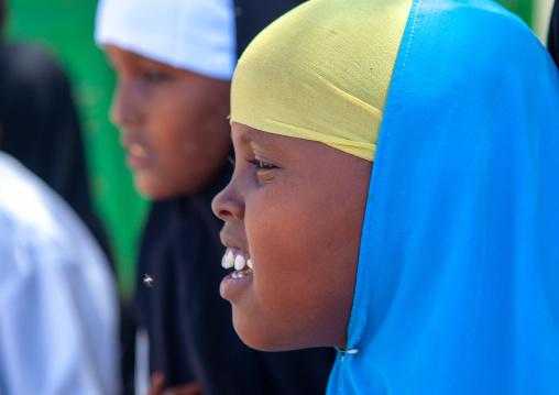 Portrait of a somali girls, North-western province, Berbera, Somaliland