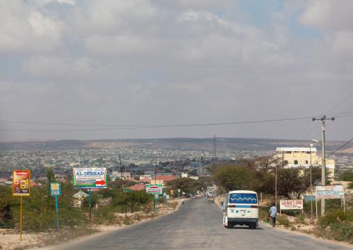Road leading to the city, Woqooyi galbeed region, Hargeisa, Somaliland