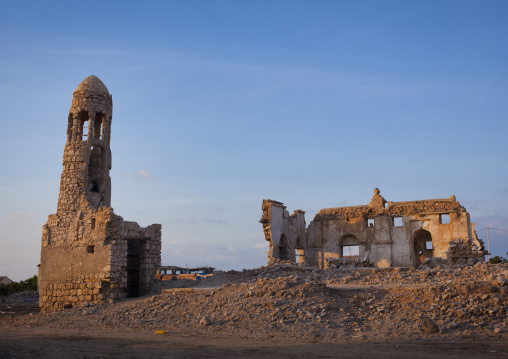 Mosque ruins, Zeila, Somaliland