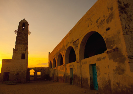 Mosque and minaret, Zeila, Somaliland