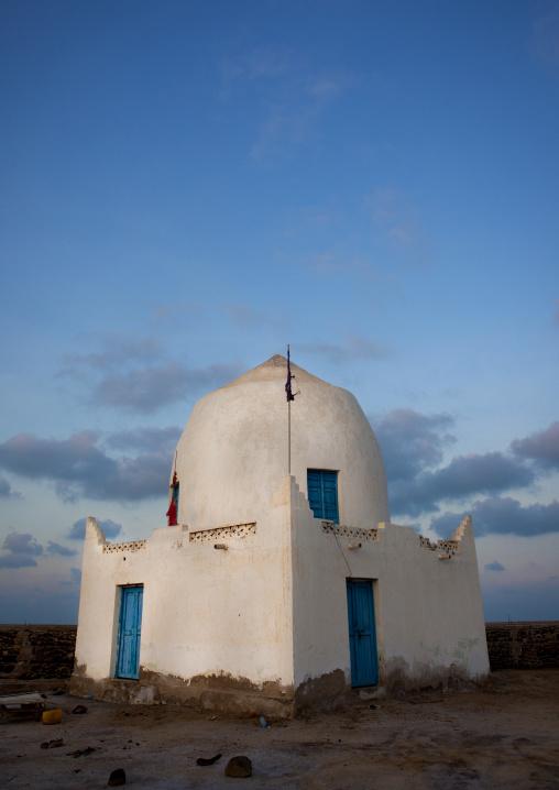 Old white mausoleum, Zeila, Somaliland