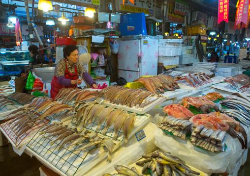 Noryangjin fisheries wholesale market, National capital area, Seoul, South korea