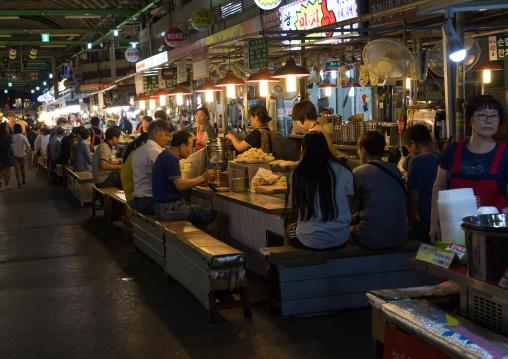 Night street food, National Capital Area, Seoul, South Korea
