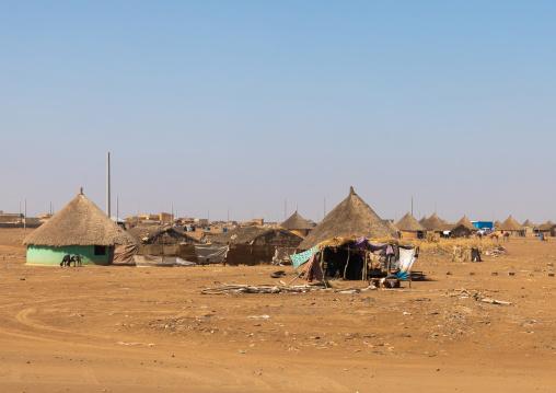 Rashaida tribe traditional house, Kassala State, Kassala, Sudan