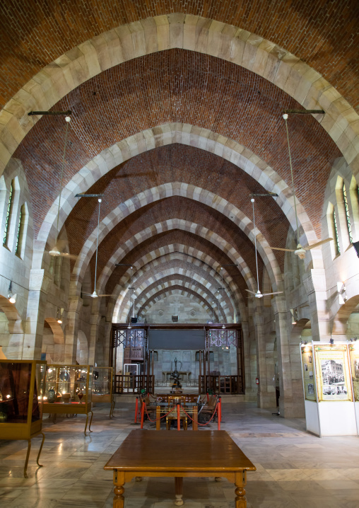 Republican palace museum housed in a converted anglican church, Khartoum State, Khartoum, Sudan