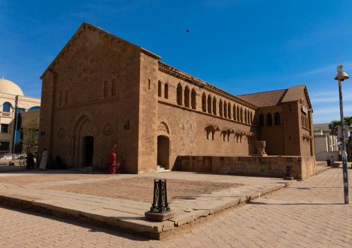 Republican palace museum housed in a converted anglican church, Khartoum State, Khartoum, Sudan