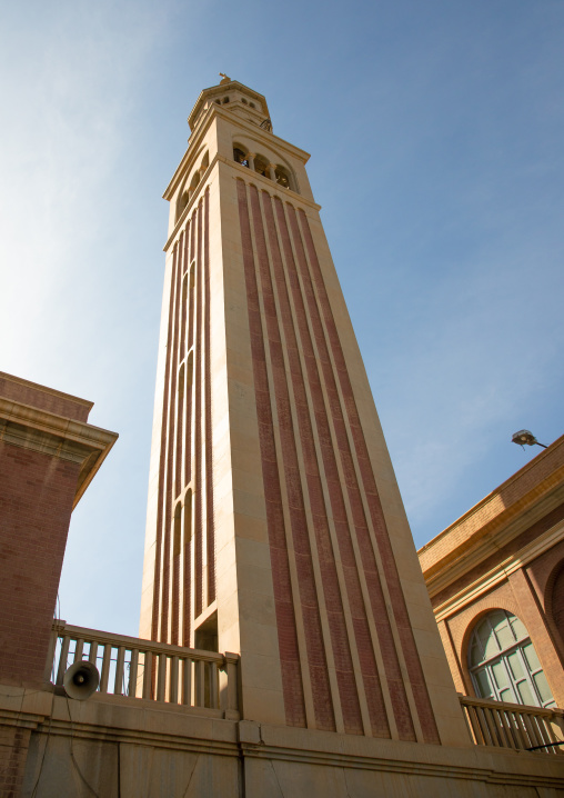 Campanile of st Matthew cathedral built by italian architects, Khartoum State, Khartoum, Sudan