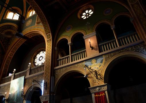 Interior of St Matthew cathedral built by italian architects, Khartoum State, Khartoum, Sudan