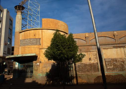 Old closed movie theater from the british times, Khartoum State, Khartoum, Sudan