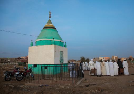 Funerals in the sufi community, Khartoum State, Omdurman, Sudan