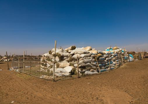 Animal food in the camel market, Khartoum State, Omdurman, Sudan
