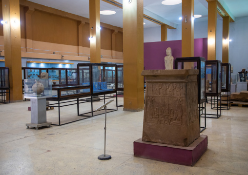 Gallery inside the national museum, Khartoum State, Khartoum, Sudan