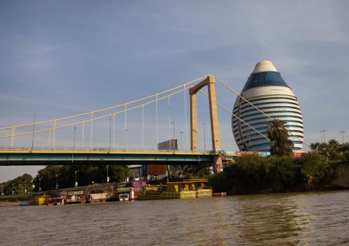 Corinthia hotel on river Nile, Khartoum State, Khartoum, Sudan