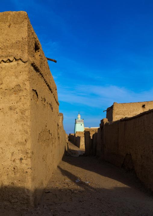 Abandonned mudbrick houses, Northern State, Al-Khandaq, Sudan