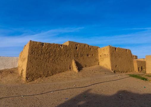 Abandonned mudbrick house, Northern State, Al-Khandaq, Sudan