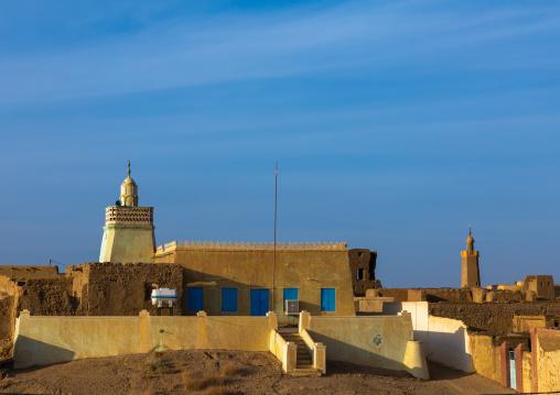 View of the village, Northern State, Al-Khandaq, Sudan