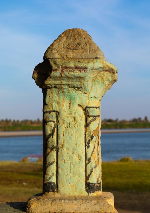 Old ottoman pilar, Northern State, Al-Khandaq, Sudan