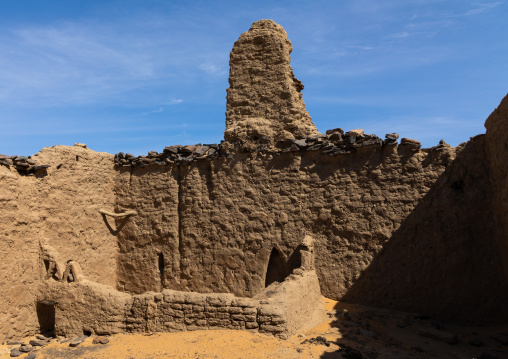 Old mosque, Nubia, Old Dongola, Sudan