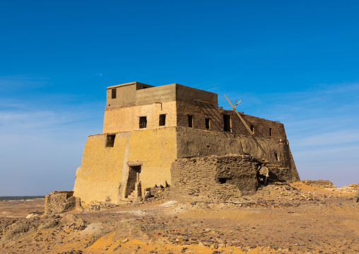 Throne hall turned into a mosque, Nubia, Old Dongola, Sudan