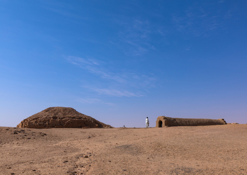 Pyramid in the  the royal cemetery, Northern State, El-Kurru, Sudan