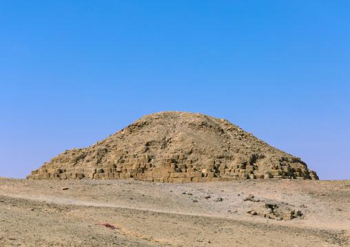 Pyramid in the royal cemetery, Northern State, El-Kurru, Sudan