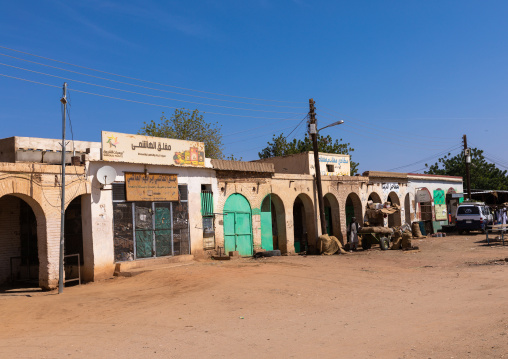 Old colonial market, Northern State, Karima, Sudan