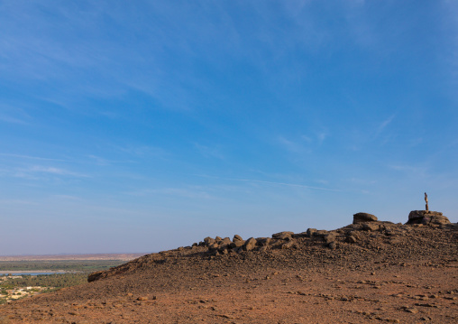 Jebel Barkal top, Northern State, Karima, Sudan