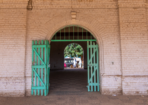 Train station entrance, Northern State, Karima, Sudan