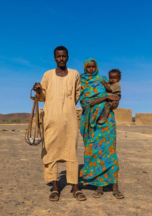 Bedouin arab family, Northern State, Bayuda desert, Sudan