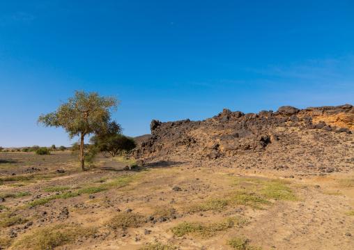 Rocky landscape, Northern State, Bayuda desert, Sudan