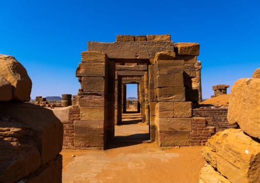 Amun temple gates, Nubia, Naqa, Sudan