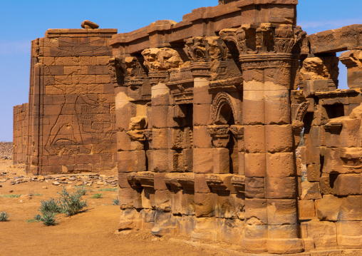 The roman kiosk, Nubia, Naqa, Sudan