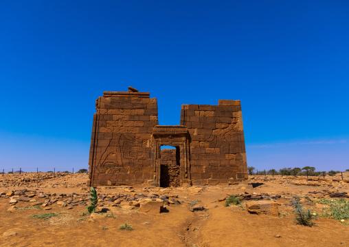Lion temple of Apedemak, Nubia, Naqa, Sudan